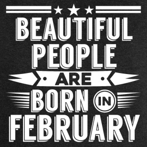 Beatiful people born in february - T-Shirt - Women's Premium Hooded Jacket