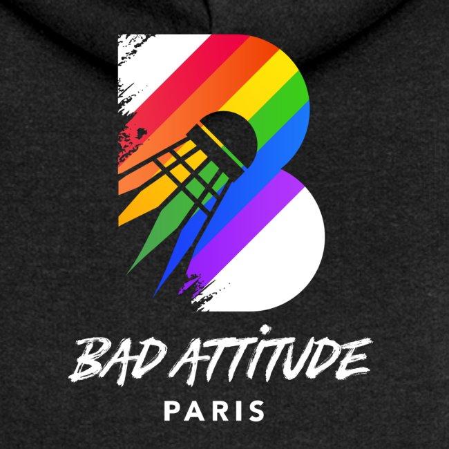 BadAttitude logo blanc
