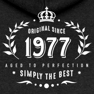 original since 1977 simply the best 40th birthday - Women's Premium Hooded Jacket