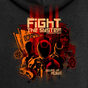 Fight the System - Chaqueta con capucha premium mujer