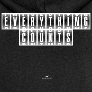 Everything Counts wit - Vrouwenjack met capuchon Premium