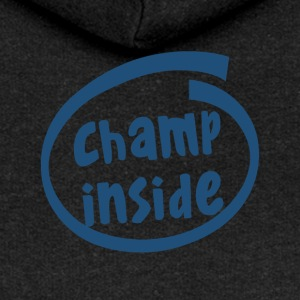 champ inside (1803C) - Women's Premium Hooded Jacket