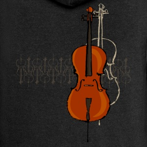 Cello Design 2 dark - Women's Premium Hooded Jacket