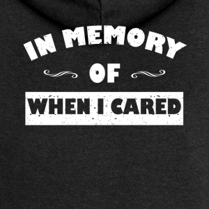 In memory ... funny sayings - Women's Premium Hooded Jacket