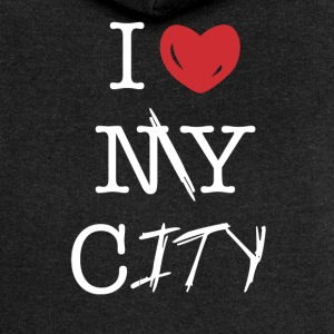 i love my city - Women's Premium Hooded Jacket