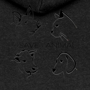Save Animal - Frauen Premium Kapuzenjacke