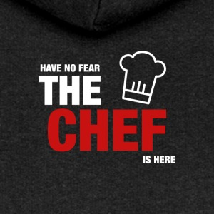 Have No Fear Is Here Chef - Rozpinana bluza damska z kapturem Premium
