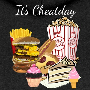 Cheatday - Felpa con zip premium da donna
