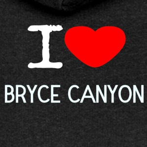 I LOVE BRYCE CANYON - Women's Premium Hooded Jacket