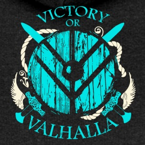 VICTORY OF VALHALLA - Women's Premium Hooded Jacket