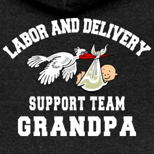 Grandpa Labor Delivery Support Team - Women's Premium Hooded Jacket