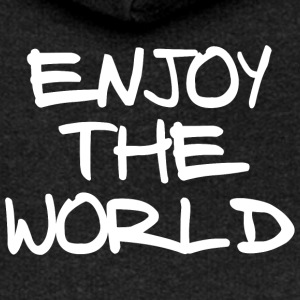 ENJOY THE WORLD - Frauen Premium Kapuzenjacke