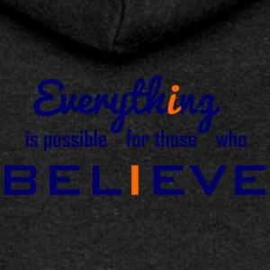 Everything is possible - Women's Premium Hooded Jacket
