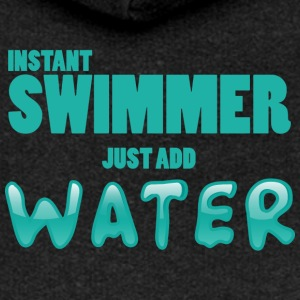 Zwemmen / float: Instant Swimmer - Just Add - Vrouwenjack met capuchon Premium