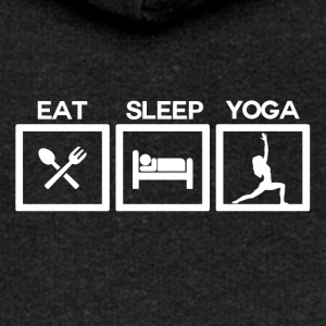 Eat Sleep Yoga - Cycle - Premium hettejakke for kvinner