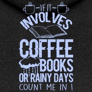 Coffee and books - Frauen Premium Kapuzenjacke