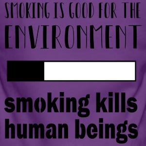 Smoking = good for the environment: kills people - Women's Premium Hooded Jacket