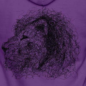 Lion Scribble - Premium hettejakke for kvinner