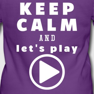 Keep Calm And Let's Play - Women's Premium Hooded Jacket