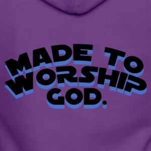 Made To Worship - Chaqueta con capucha premium mujer
