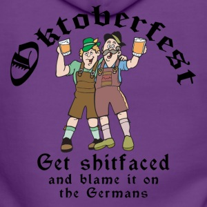 Funny Oktoberfest German Drinking - Women's Premium Hooded Jacket