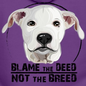 DOGO ARGENTINO blame the deed - Women's Premium Hooded Jacket