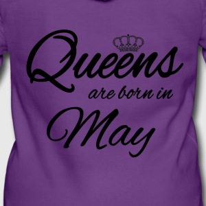 Queens Born May Princess Birthday Birthday May - Women's Premium Hooded Jacket