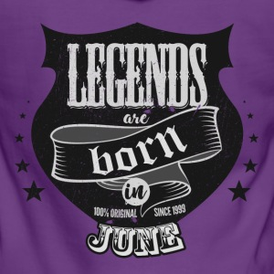 All legends born June birthday gift - Women's Premium Hooded Jacket