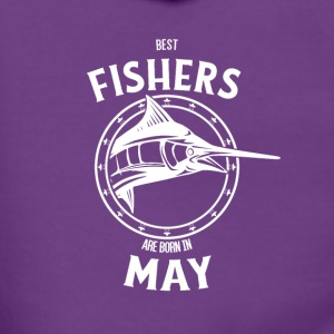 Present for fishers born in May - Women's Premium Hooded Jacket