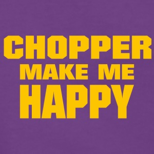 Chopper Make Me Happy - Frauen Premium Kapuzenjacke