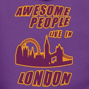 London Awesome people live in - Women's Premium Hooded Jacket