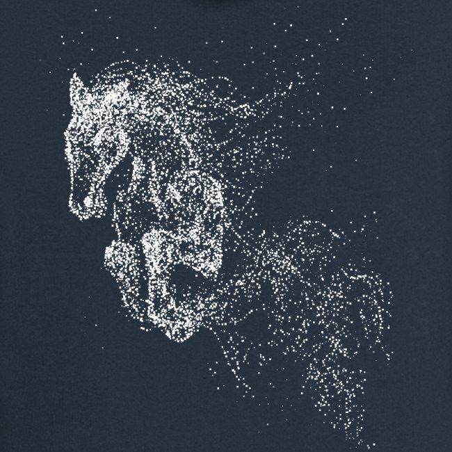 Vorschau: jumping horse white - Frauen Premium Kapuzenjacke