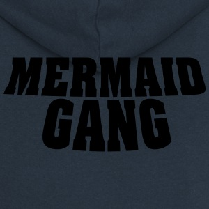Mermaid Gang - Mermaid / Mermaid Walk - Women's Premium Hooded Jacket