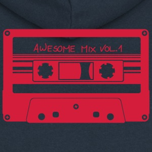 "Cassette ""Awesome Mix"" - Women's Premium Hooded Jacket"