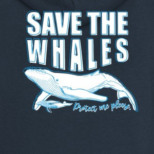 Save the whales - Women's Premium Hooded Jacket