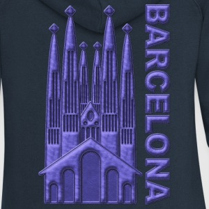 Barcelona Sagrada Familia España - Women's Premium Hooded Jacket