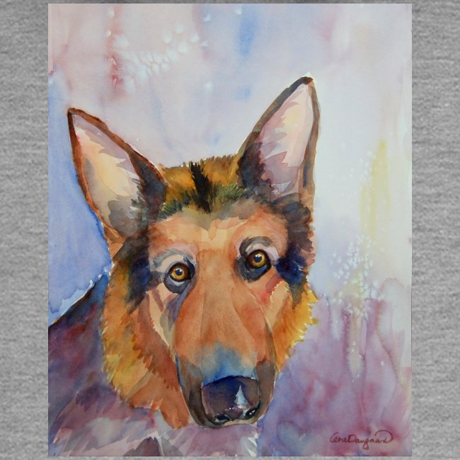 german shepherd wc