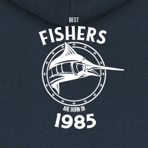 Present for fishers born in 1985 - Women's Premium Hooded Jacket