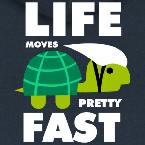 Life moves pretty fast - Women's Premium Hooded Jacket