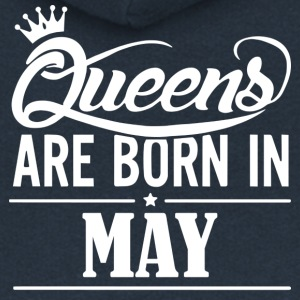 Queen May Birthday - Women's Premium Hooded Jacket