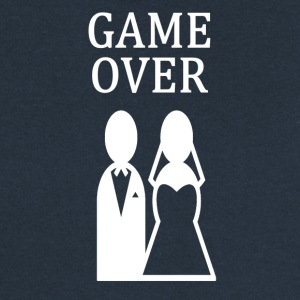 ++ ++ GAME OVER - Felpa con zip premium da donna