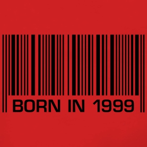born barcode in 1999 18th birthday 18th birthday - Women's Premium Hooded Jacket