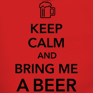 Keep calm and bring me a Beer Biergarten Grillen - Frauen Premium Kapuzenjacke