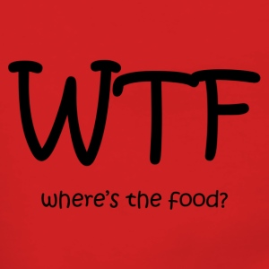WTF! where's the food? - Women's Premium Hooded Jacket