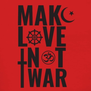 Make Love Not War - Premium hettejakke for kvinner
