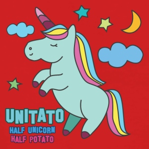 Einhorn: Unitato - Half and Half Unicorn potatis - Premium luvjacka dam