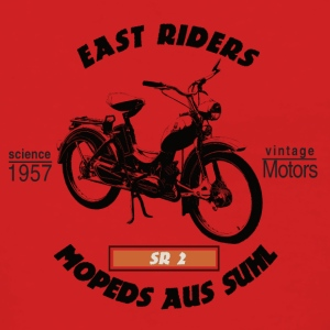 East Riders Mopeds from Suhl - Women's Premium Hooded Jacket