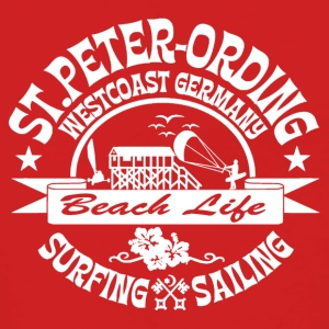 Ording Beach Logo - Premium hettejakke for kvinner