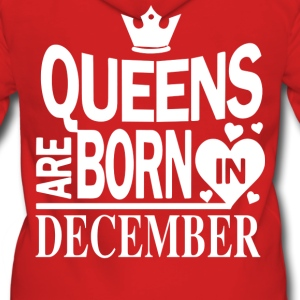 Birthday Shirt - Queens are born in DECEMBER - Women's Premium Hooded Jacket