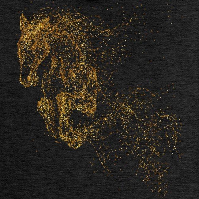 Vorschau: jumping horse gold - Frauen Premium Kapuzenjacke